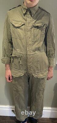 Vintage Post-ww2/1950s British Tank Suit/ Pixie Suit