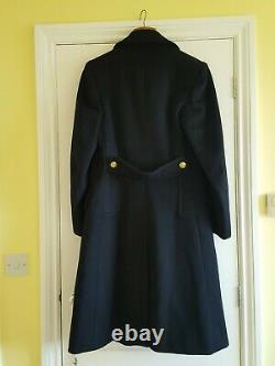 Vintage post WW2 naval officer's great coat in very good condition