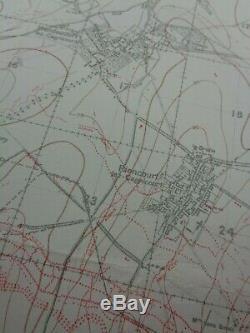 WW1 (1917) HINDENBURG LINE POST BATTLE of ARRAS CONFUSION (BULLECOURT etc)